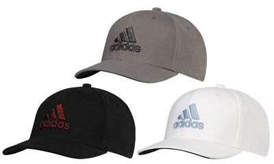 7600bbd15ca03 Adidas Heathered Logo Hat Golf Cap 2018 Fitted New - Choose Color   Size