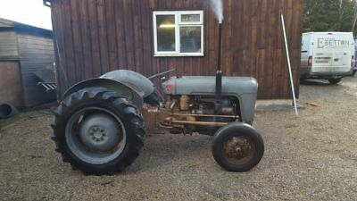 MASSEY FERGUSON 35 4 CYLINDER DIESEL shood be red and grey