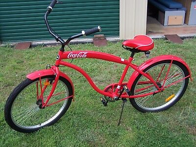 """Coke Cola 26"""" Collectable Bike- As New"""