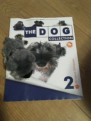 The Dog Artist Collection 2 MINIATURE SCHNAUZER Magazine and Soft Toy