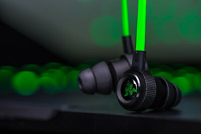 New Razer Hammerhead V2 Pro Earphone with Microphone In Ear Gaming Headsets 2018