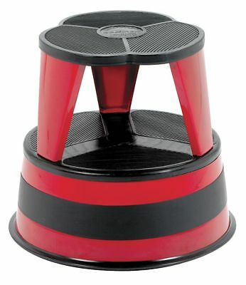 """Cramer Steel Office Step Stool, 14-1/2"""" Overall Height, 350 lb. Load Capacity,"""