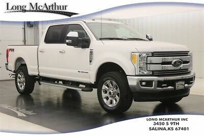 2017 Ford F-250 LARIAT 4X4 POWERSTROKE TURBODIESEL AUTOMATIC CREW CAB MSRP $71095 4WD 4 DOOR CHROME PACKAGE SUPER DUTY! ULTIMATE TRAILER TOW PACKAGE, BLIS