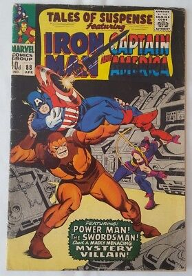 Tales of Suspense #88_Captain America and Iron Man_GD condition