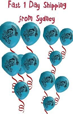 Jake and the neverland pirates Balloons Latex Birthday Party Theme Parties Kids