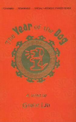 The Year of the Dog by Grace Lin (English) Prebound Book Free Shipping!