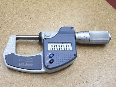 !!! Mitutoyo 293-832-30 Electronic Micrometer 0-1""