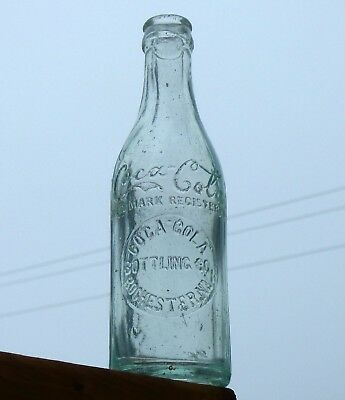 Rare Rochester, New York NY COCA-COLA straight side Root soda bottle FREE SHIP!