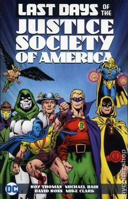Last Days of the Justice Society of America TPB (DC) #1-1ST 2017 NM