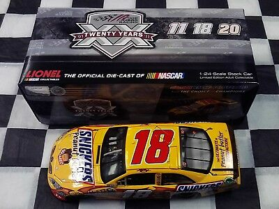 Kyle Busch #18 Snickers Peanut Butter Squared 2011 Camry Action 1:24 scale car