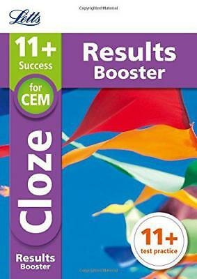 11+ Cloze Results Booster for the CEM tests: Targeted Practice Workbook (Letts 1