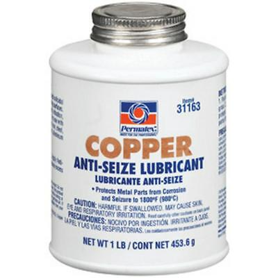 Permatex Copper Anti-Seize Lubricant, 473mL brush top bottle 31163 Free Shipping