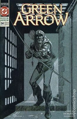 Green Arrow (1st Series) #54 1991 VF Stock Image