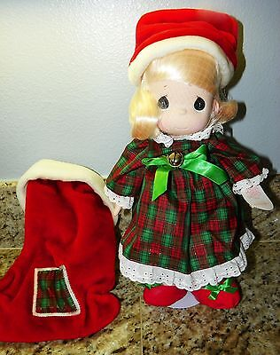 New PRECIOUS MOMENTS JINGLES 1997 STOCKING DOLL