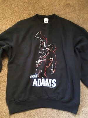Rare Bryan Adams 1992 Tour Sweater Size XL Black Vintage