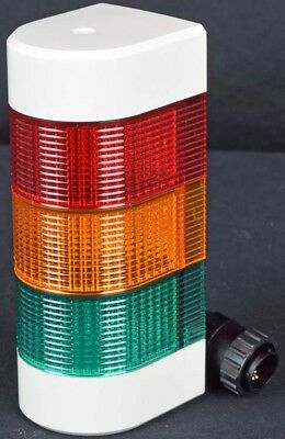 PatLite WME-AFB Wall Mountable Green Yellow Red Signal Tower Safety Alarm Light