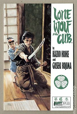 Lone Wolf and Cub (First) #45 1991 VF+ 8.5
