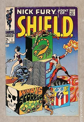 Nick Fury Agent of SHIELD (1st Series) #1 1968 GD+ 2.5