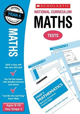Maths Test - Year 5 (National Curriculum SATs Tests) (Paperback), Hollin, Paul,.