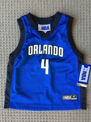 Nba Licensed Original Jersey Shirt Kids Size 4T Orlando Magic