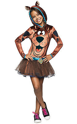 FANCY DRESS COSTUME ~ Girls Scooby Doo Hoodie Age 3,10