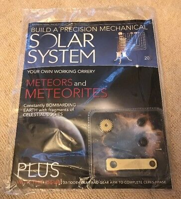 Build A Precision Mechanical Solar System [Issue 20]
