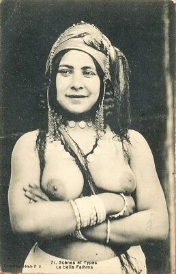 Mauresque arabe seins nus / nude arab Moorish Woman ** Ouled Nail **