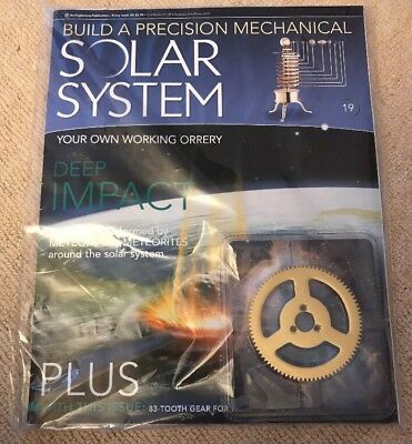 Build A Precision Mechanical Solar System [Issue 19]