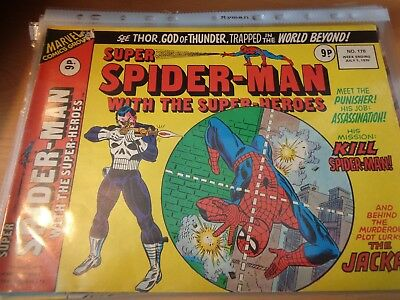 Super Spider-Man with the Super Heroes 178 7 July 1976 UK [Punisher]