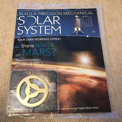 Build A Precision Mechanical Solar System [Issue 15]