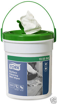 Tork 190594 Professional Surface Cleaning Wet Wipes 58 Wipes Per Tub G6TW