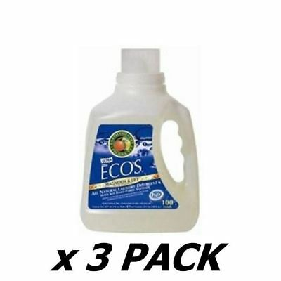 Ecos Laundry Liquid Ecos - Magnolia & Lily - 100 Washes 3Ltr (3 Pack)
