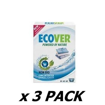 Ecover (Uk) Concentrated Non Bio Integrated Washing Powder 750G (3 Pack)