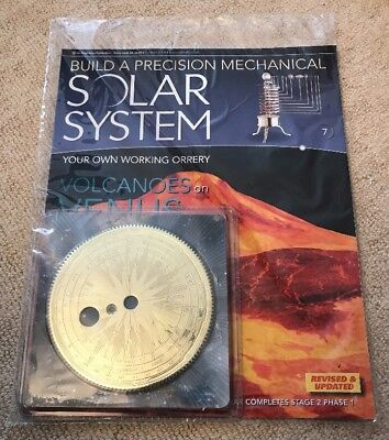Build A Precision Mechanical Solar System [Issue 7]