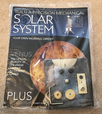 Build A Precision Mechanical Solar System [Issue 6]