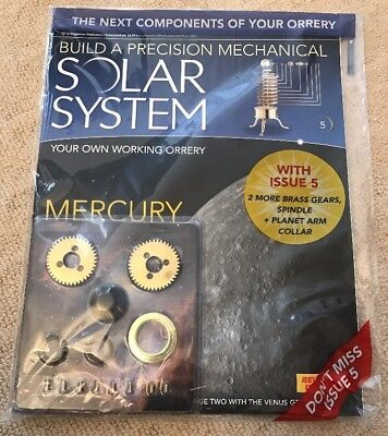 Build A Precision Mechanical Solar System [Issue 5]