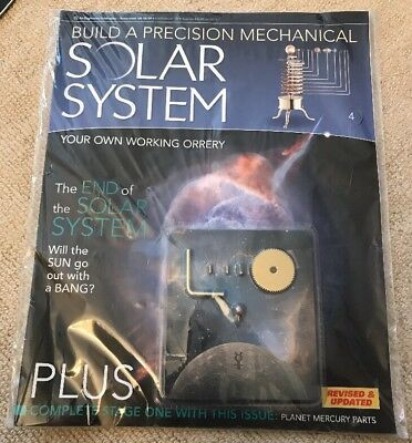 Build A Precision Mechanical Solar System [Issue 4]