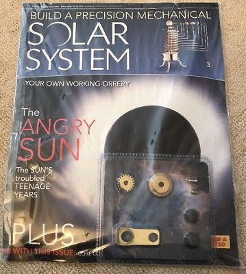 Build A Precision Mechanical Solar System [Issue 3]