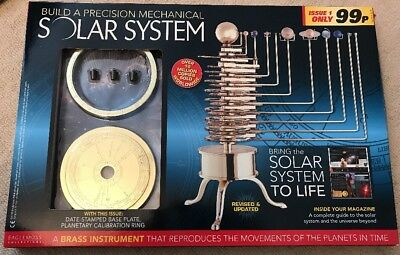 Build A Precision Mechanical Solar System [Issue 1]