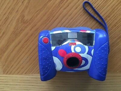 Fisher Price Kids Digital Camera Blue, White, Red Kid Tough