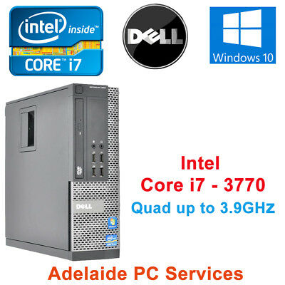 Dell Optiplex 9010 SFF Intel Core i7 3.4Ghz Desktop PC 8GB Ram 240GB SSD Win 10