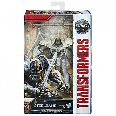 Hasbro Transformers The Last Knight Premier Edition STEELBANE C2401 - NEW