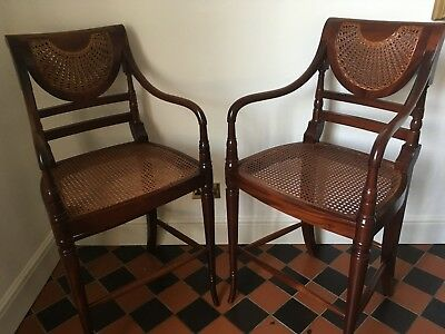 Pair of Antique style Raffells Bar/Kitchen Stools. Top quality!