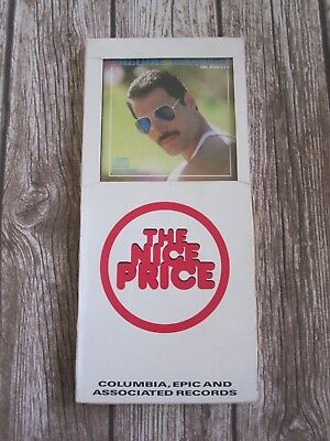 FREDDIE MERCURY : Mr Bad Guy USA Long Box CD Album Columbia Records CBS Queen