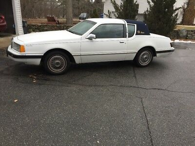 1986 Mercury Cougar  1986 mercury cougar bostonian