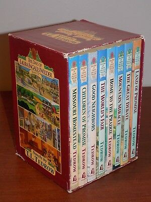 The Days of Laura Ingalls Wilder by T.L. Tedrow #1-8 BOXED SET