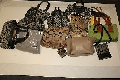 Coach Collection Wholesale Purse Lot USED Bulk Rehab Resale atWk