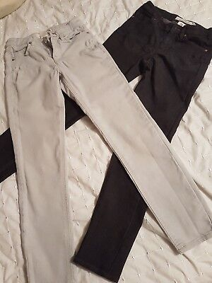 girls jeans age 8-9 h&m immaculate condition !