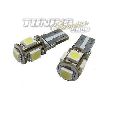 2x High Power T10 SMD LED Leselampe Innenraumbeleuchtung VW Golf 4 5 6 7 Polo 6R