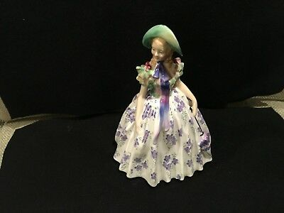 "Vintage Royal Doulton Figurine  Easter Day 842489 ~ 7"" Tall"